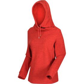 Regatta Kizmit II Fleece Hoodie Dames, rood